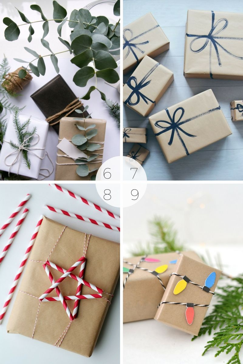 15 Christmas Gift Wrapping Ideas Using Brown Paper Simple Beautiful Christmas Gift Wrapping Christmas Wrapping Ideas Creative Gift Wrapping