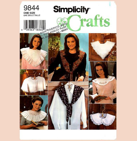 608 Eight Gorgeous Styles of Collars for Women by ladydiamond46, $5.45