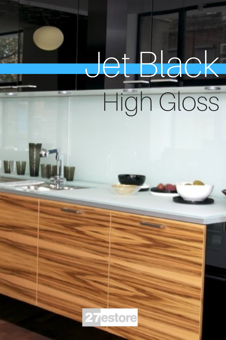 high gloss polyester black in 2019 kitchen cabinets kitchen rh pinterest com