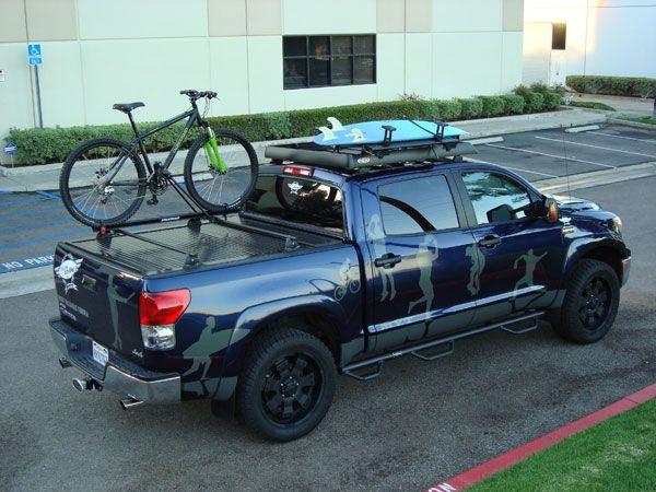 Cool Accessories For Your Cargos Marketing Truck Truckridge Bike Rack Trucks Truck Covers