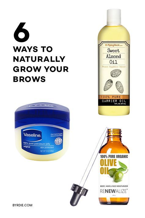 How To Make Your Eyebrows Thicker Naturally Eyebrow Natural And Brows