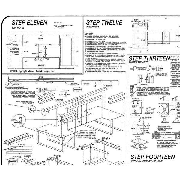 Heavy Duty Car Dolly Plans Blueprints – Model 1000 | Shop class ...