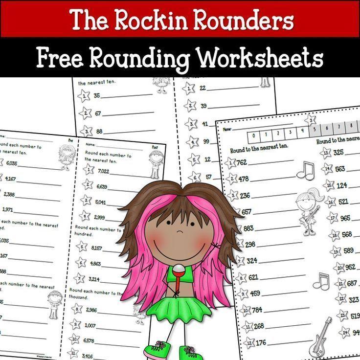 Rounding Activities and Free Worksheets Rounding
