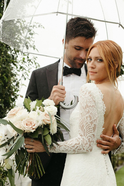 Exclusive See Brittany Snow And Tyler Stanaland S Wedding Photos Snow Wedding Loverly Weddings Kim Kardashian Wedding