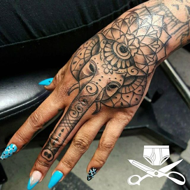 Goddess leach pinteres for Female hand tattoos images