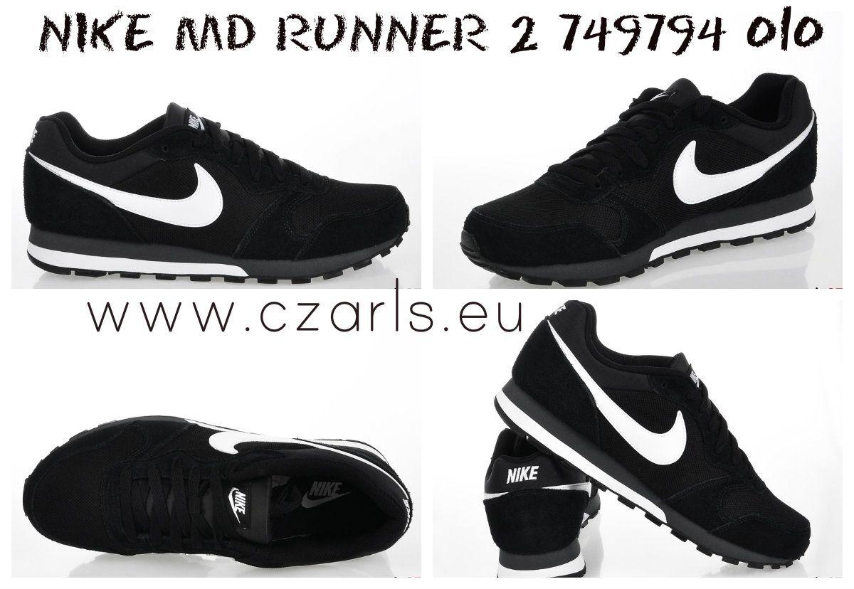 Nike Md Runner 2 Buty Meskie 749794 010 Www Czarls Eu Nike Sneakers Nike Nike Cortez
