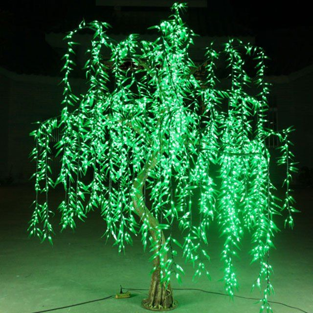 outdoor decorative led light up willow tree led willow trees willow tree tree lighting. Black Bedroom Furniture Sets. Home Design Ideas