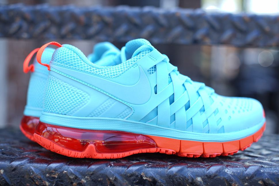 sports shoes 350f9 7fe9e Nike Fingertrap Max NRG  Polarized Blue  amp  Total Crimson  Blue Sneakers,  Air