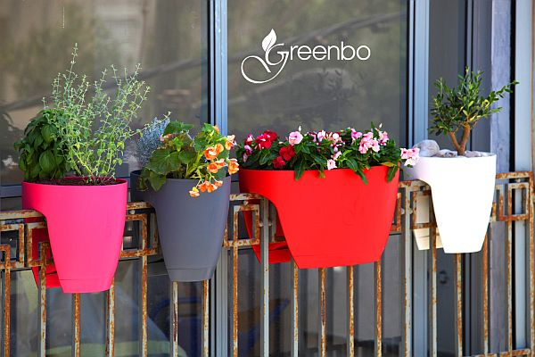 Greenbo Railing Planters Integrate Ecology With Contemporary