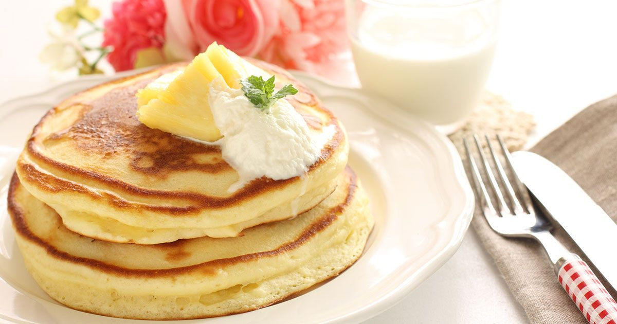 طريقة البان كيك بدون بيض Recipe Gourmet Recipes Food Gourmet Cakes