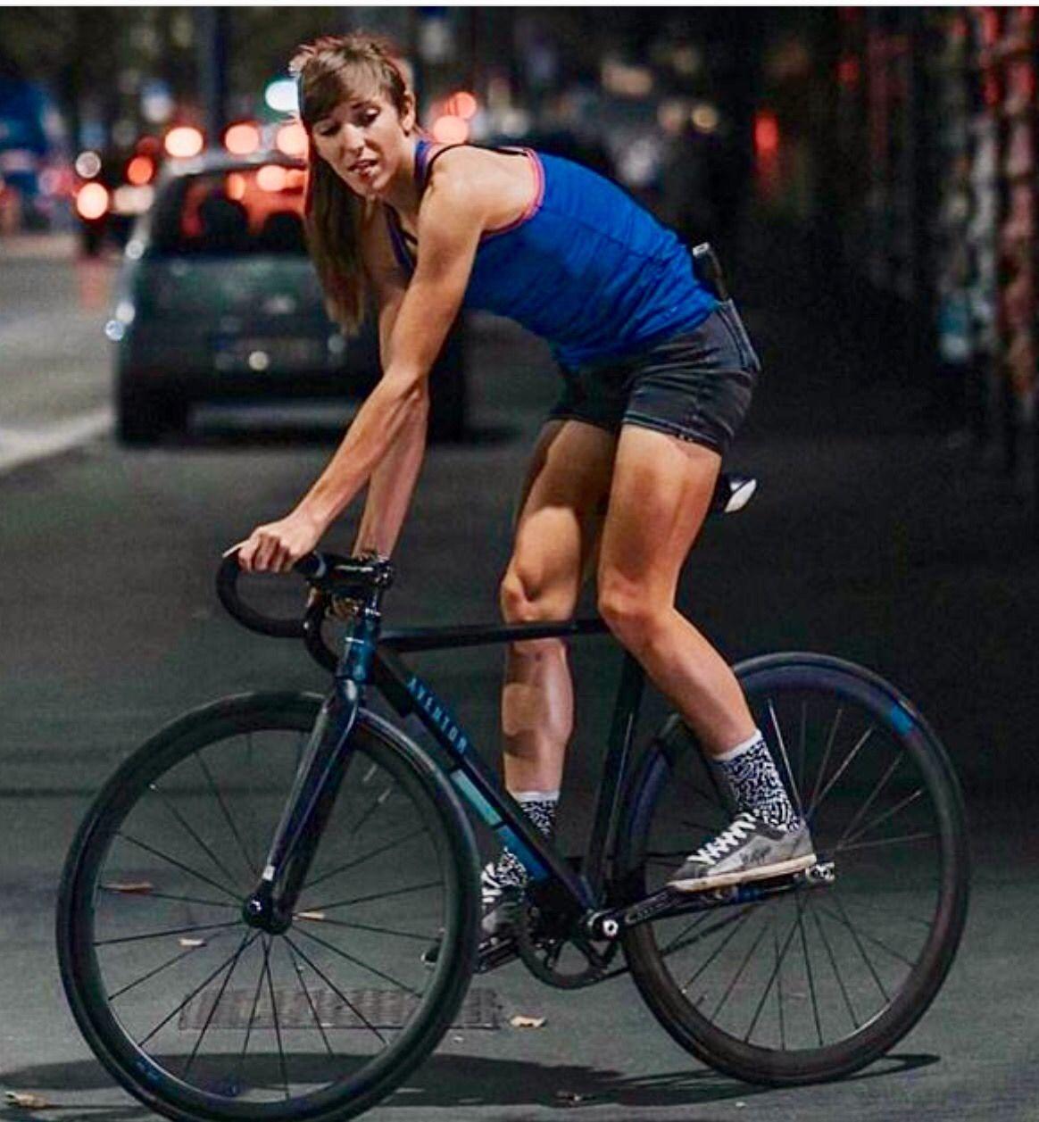 Cute Women And Girls On Bikes Photo Bicycle Girl Urban Bike