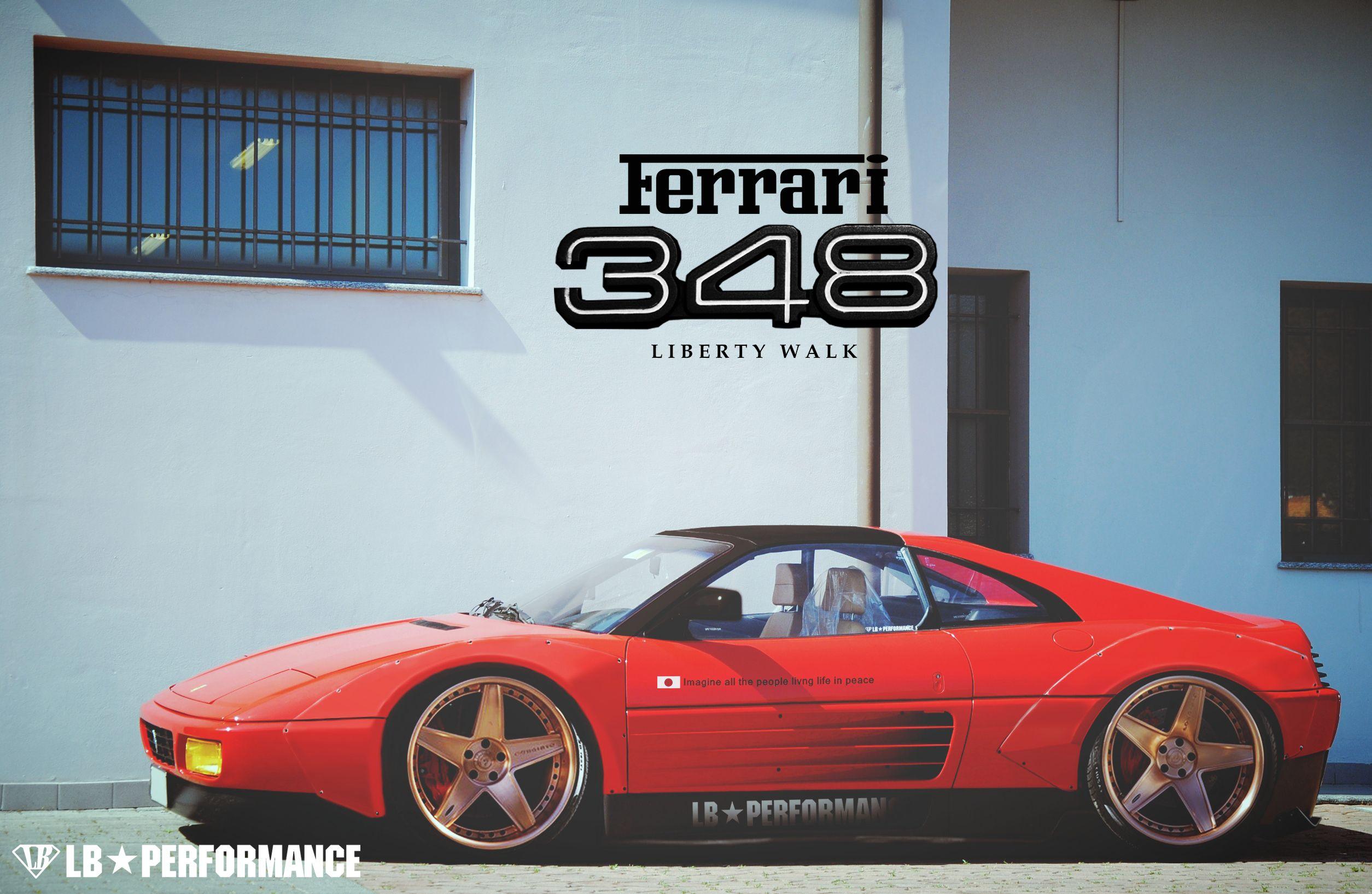 Ferrari 348 Liberty Walk By A4