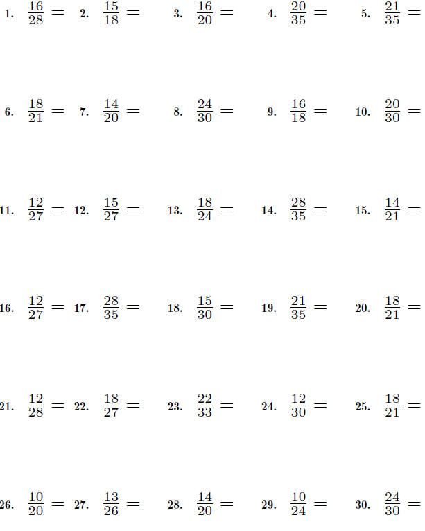 simplify fractions worksheet - Google Search | ΑΠΛΟΠΟΙΗΣΗ ...