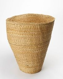 Natural Reed Basket: Remodelista