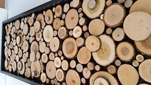 Holz Scheiben Dekorationwand Dekorationholz Dekorationkunst