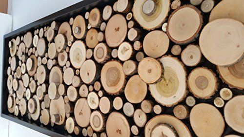 Fantastisch Holz Scheiben Dekoration/Wand Dekoration/Holz Dekoration/Kunst/Rustikal Art