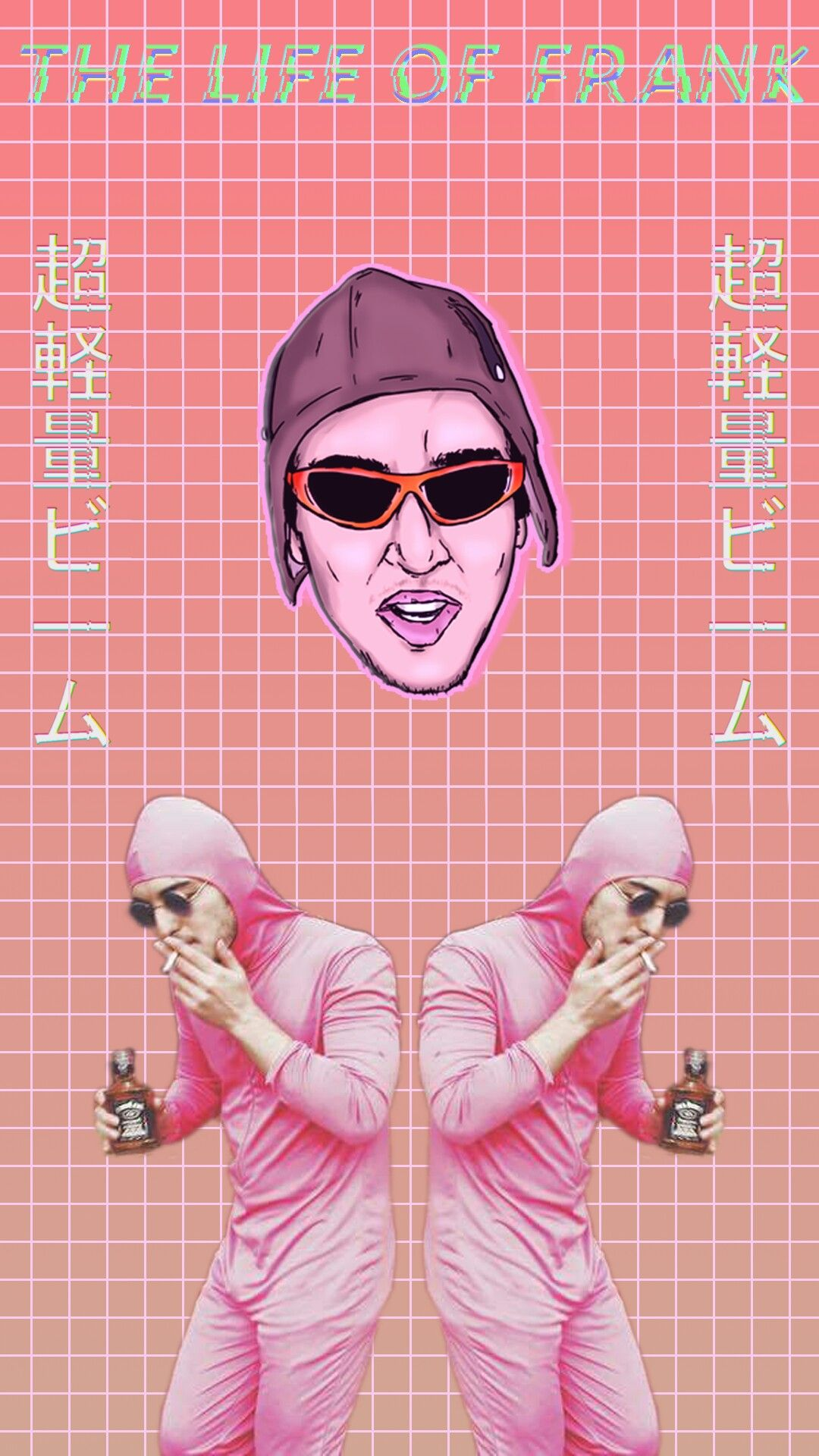 Pink Life Of Frank Pink Wallpaper Filthy Frank Wallpaper Android Wallpaper Classic Memes
