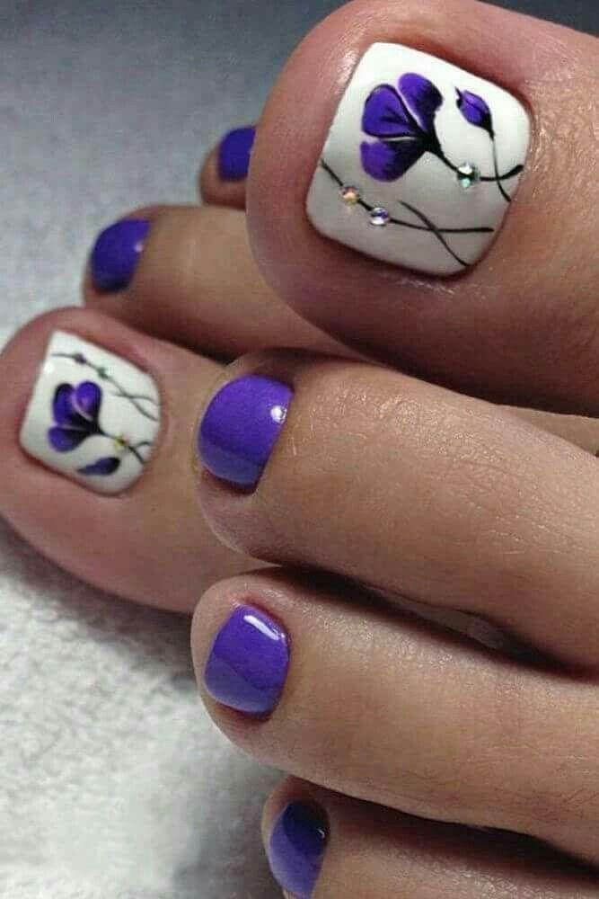 Toe nail design ideas | Nail art designs | Pinterest | Toe nail ...