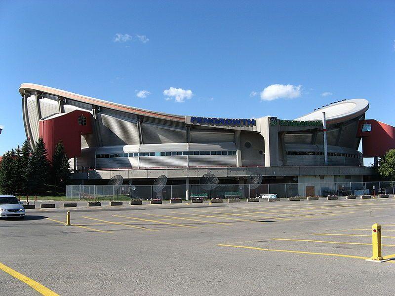 Scotiabank Saddledomme Arena Calgary Calgary Flames Hockey Arena Drumheller