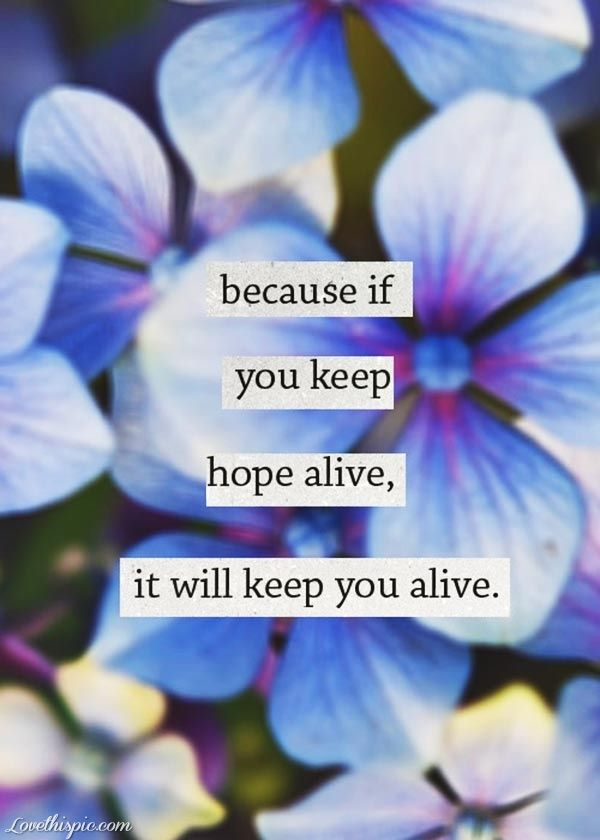 if you keep hope alive quotes positive quotes quote picture quotes quotes and saying
