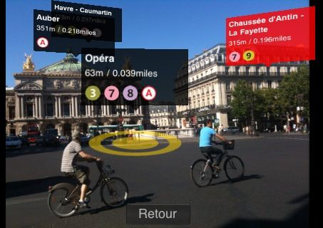 First Augmented Reality App for the iPhone Is Live | Mood