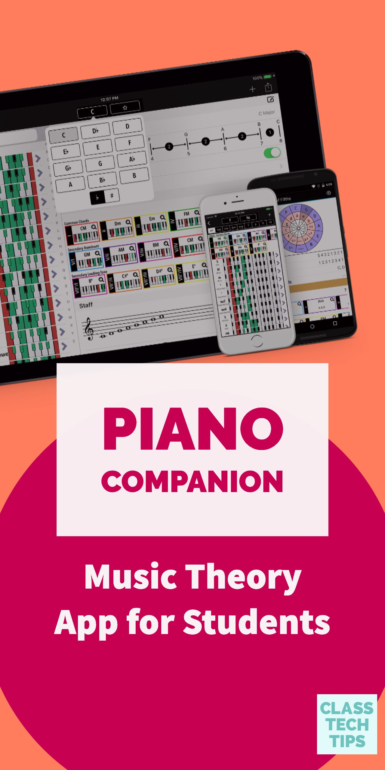 Piano Companion Music Theory App for Students Music