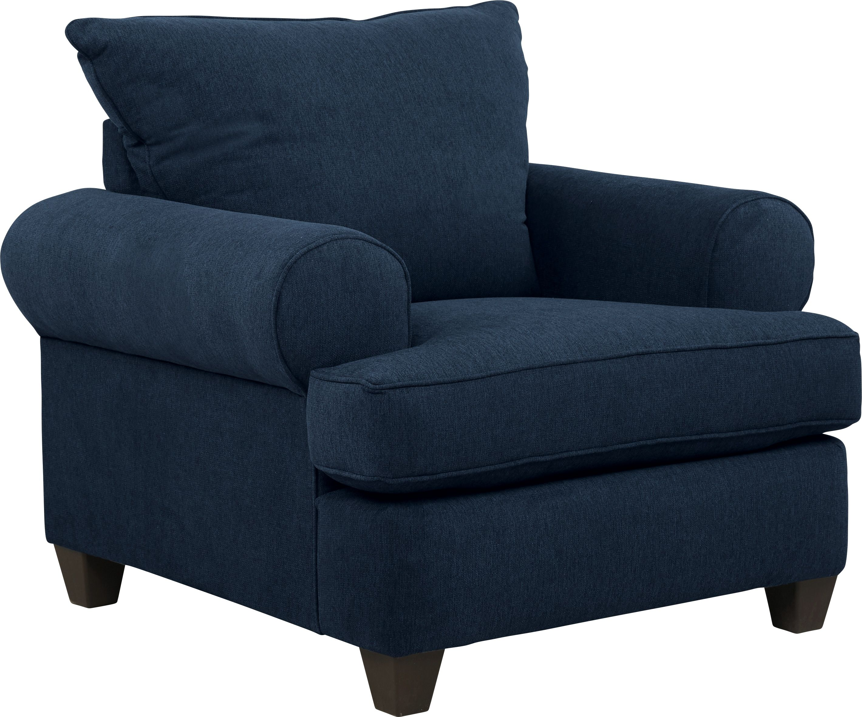 Emsworth navy chair chair style living room chairs