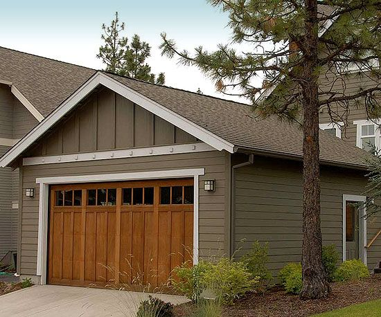 Garage design garage doors bungalow patios and garage for Patio home plans with garage