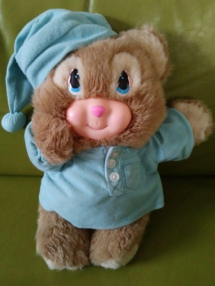Vtg A Little Happiness Blushables Bear 90s Plush Stuffed Animal Cheeks Light Up Plush Stuffed Animals Cool Toys Animals