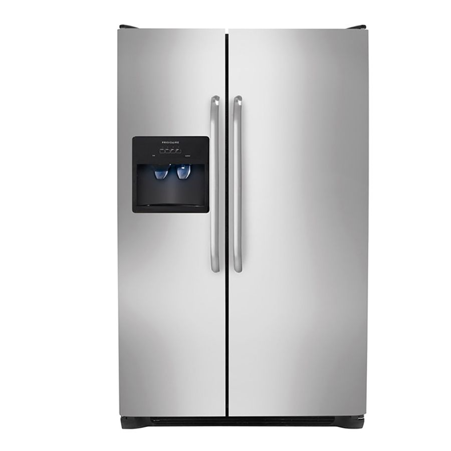 Frigidaire 26 Cu Ft Side By Refrigerator With Single Ice Maker