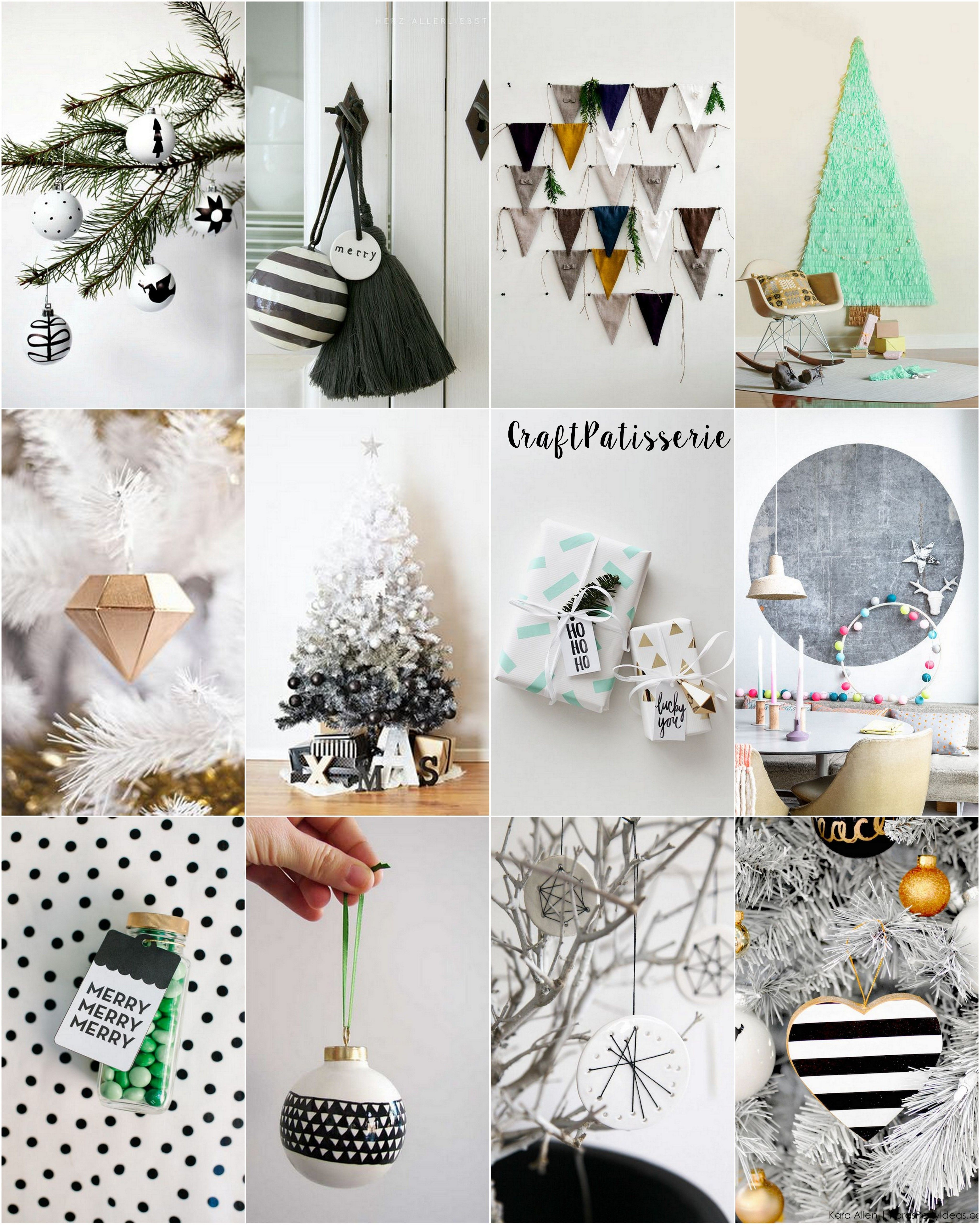 Nordic Style For Christmas Moodboard