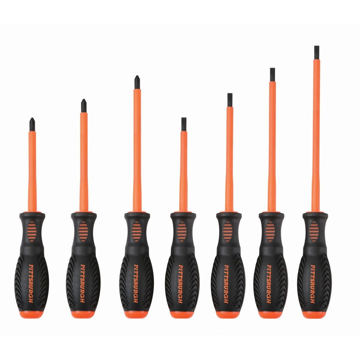 Electrician S Screwdriver Set 7 Pc