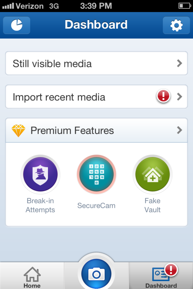 The secure NQ Mobile Vault for iPhone (pictures) Iphone
