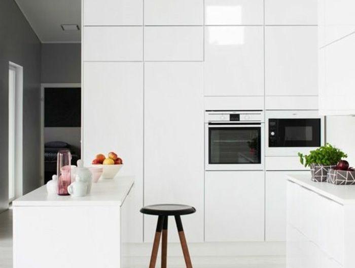 Comment repeindre une cuisine, idées en photos! - Repeindre Un Meuble En Chene