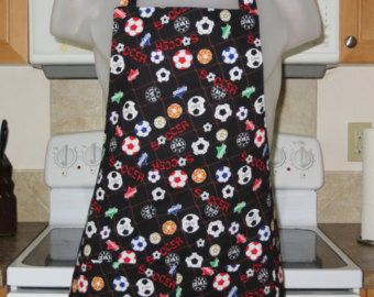 Mens Aprons - Womens Aprons - Soccer Style Full Apron