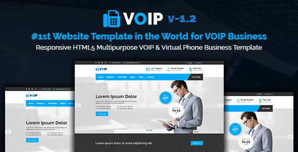 Voip responsive html5 multipurpose voip virtual phone business voip responsive html5 multipurpose voip virtual phone business template fbccfo Image collections