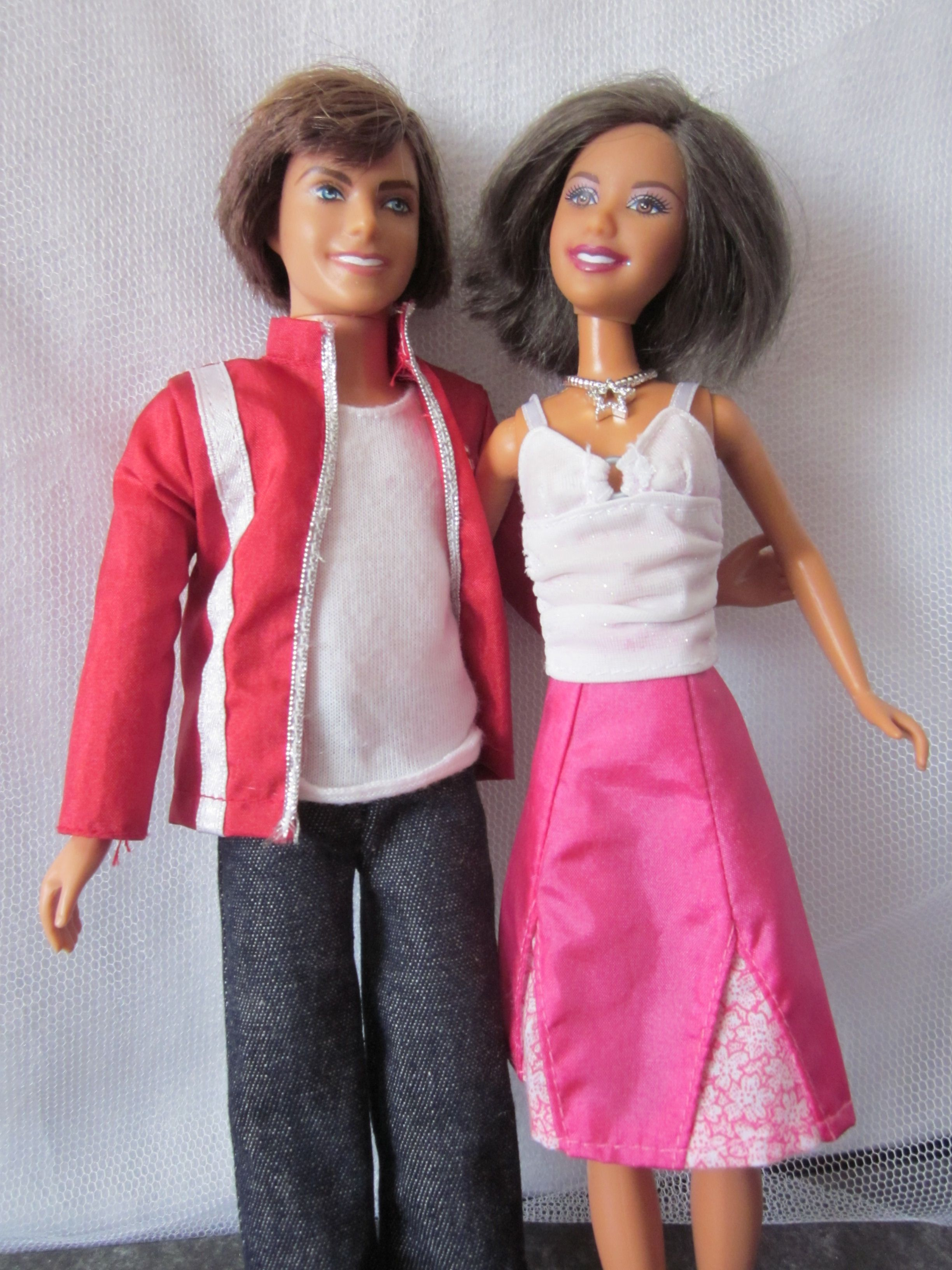 High School Musical 3 Ready For Prom Dolls Kelsi Sharpay Gabriella ...