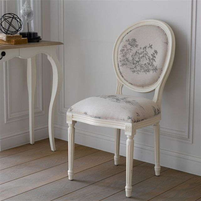 Chaise Mdaillon Trianon Lot De 2 La Redoute Interieurs