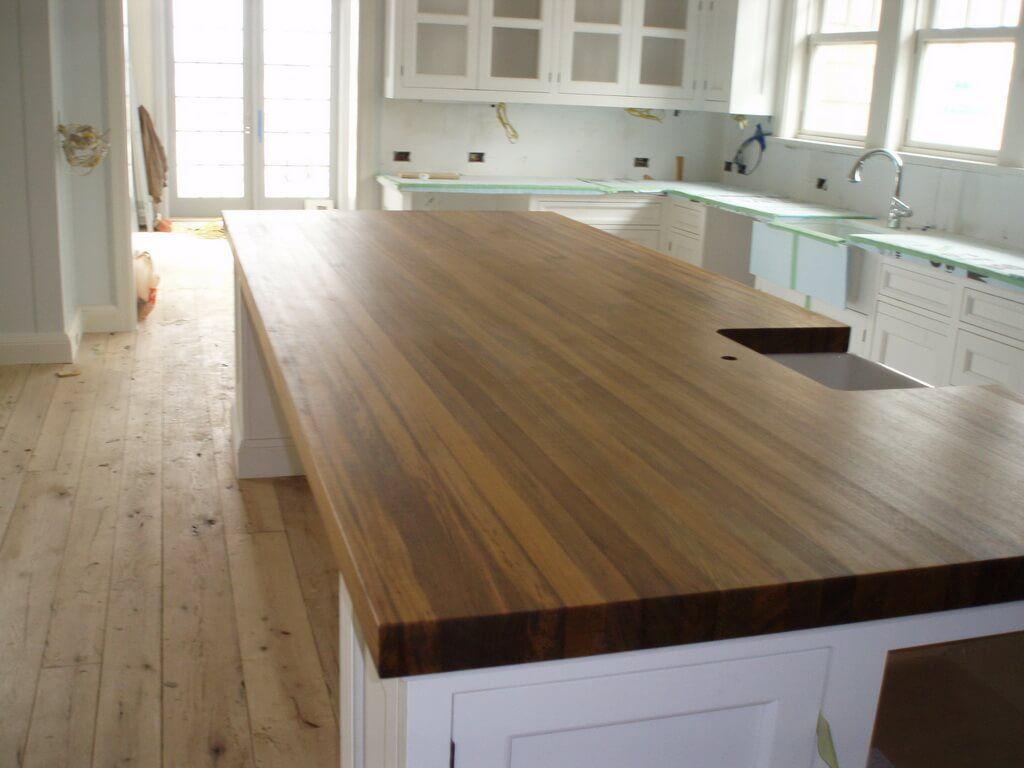 Edge Grain Wood Countertops And Butcher Blocks Brooks Custom Block