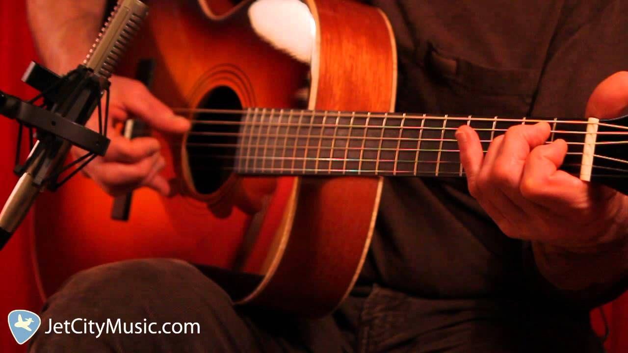 Eric Madis Fingerpicking Lesson 1 - Rolling E Blues | Guitar