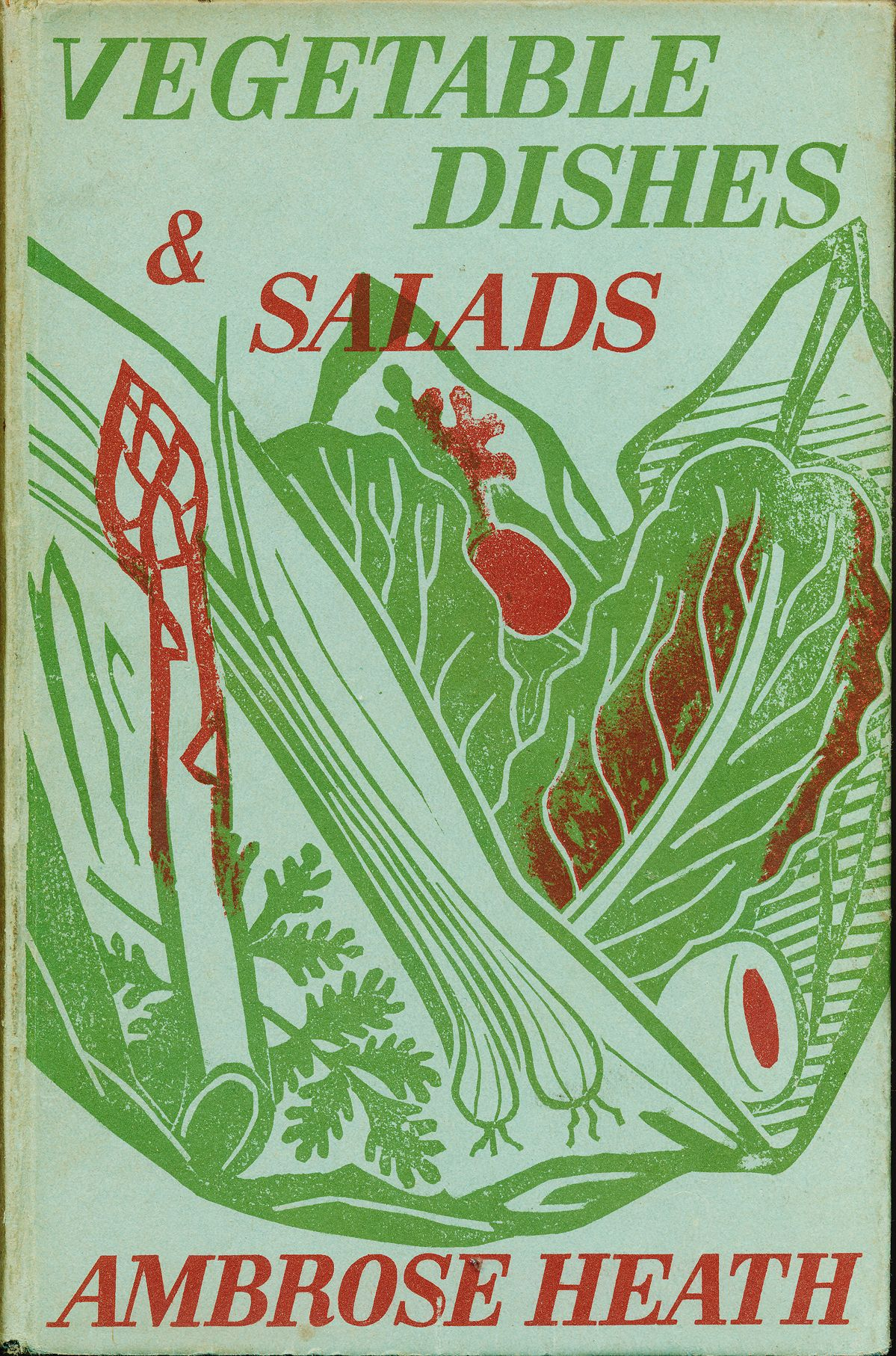 Food Book Cover Art : Edward bawden linocut cover design for vegetable dishes