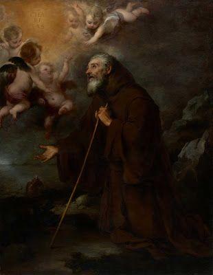 the-vision-of-saint-francis-of-paola bartolomé esteban murillo The J. Paul Getty Museum