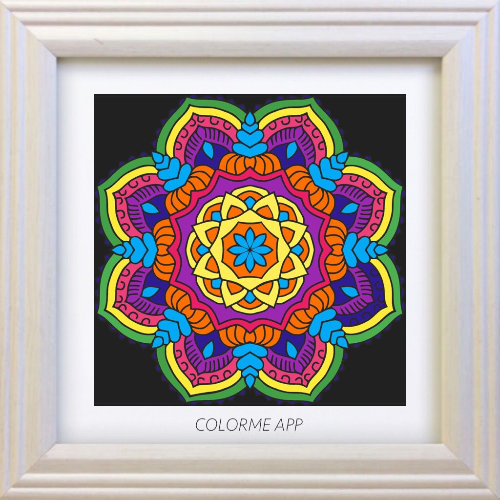 Mandala Coloring Mandalas And Colouring On Pinterest