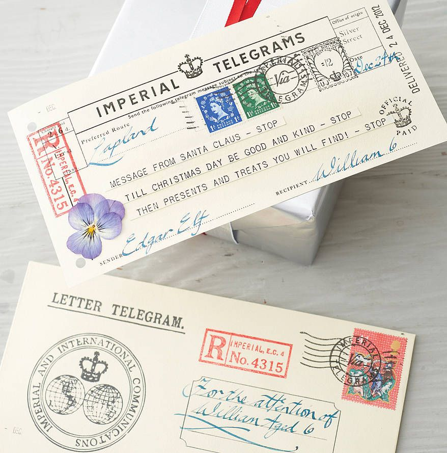 2018 letter from santa telegram santa messages and xmas 2018 letter from santa telegram spiritdancerdesigns Choice Image