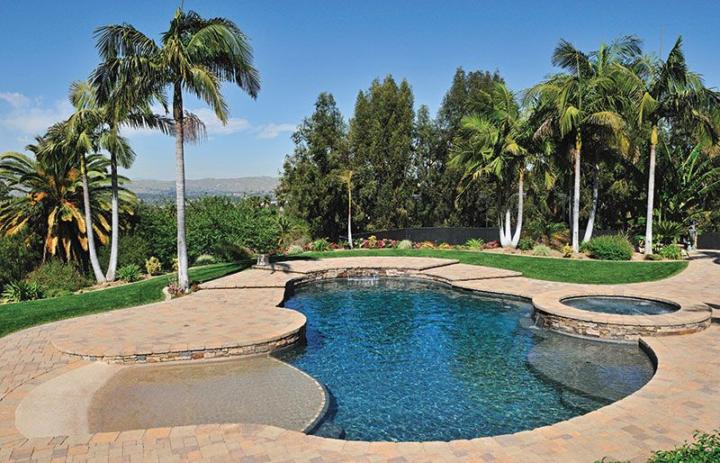 Fiberglass pools with tanning ledge google search home for Pool design with tanning ledge