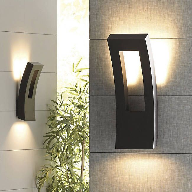Dawn Indoor Outdoor Led Wall Sconce By Modern Forms At Lumens Com Modern Outdoor Lighting Contemporary Outdoor Lighting Outdoor Light Fixtures