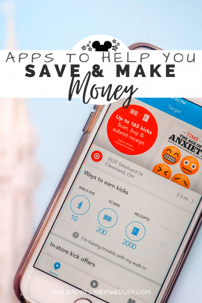 Apps To Help You Save Or Make Money In 2020 Money Saving Apps Disney On A Budget Budget Planning