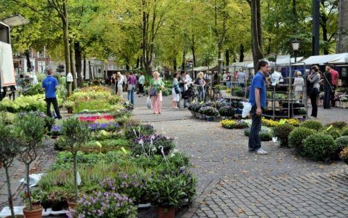 Bomen, bloemen- en plantenmarkt Utrecht