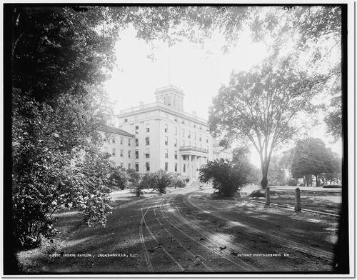 Jacksonville Insane Asylum Il Between 1890 And 1901 Mrs Packard
