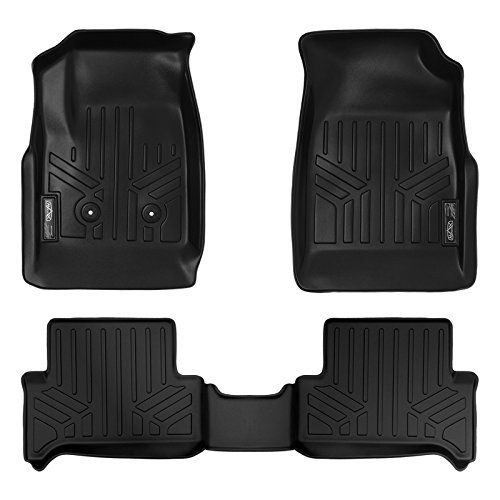 Maxfloormat Floor Mats For Chevy Colorado 2015 2016 Gmc Canyon 2015 2017 Extended Cab Complete Set Black Chevrolet Colorado Extended Cab Chevy Colorado